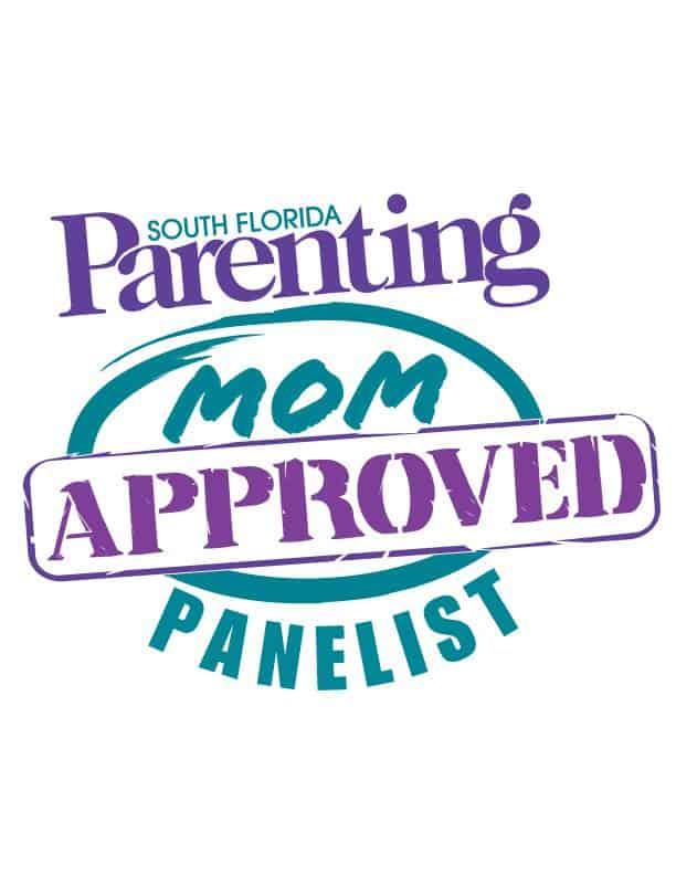 I'm a South Florida Parenting Magazine MOM Approved Panelist!