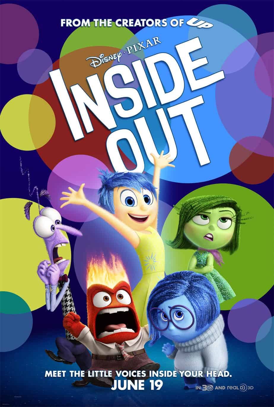 Disney's Inside Out Movie – FREE Activity Sheets and Recipes!