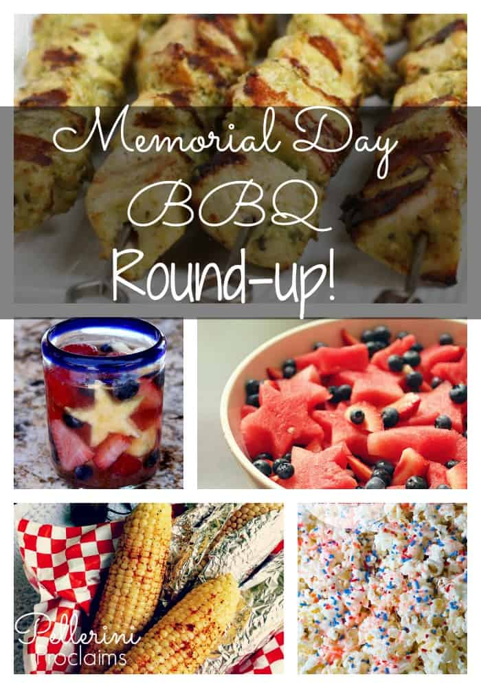 Memorial Day BBQ Idea Round Up!