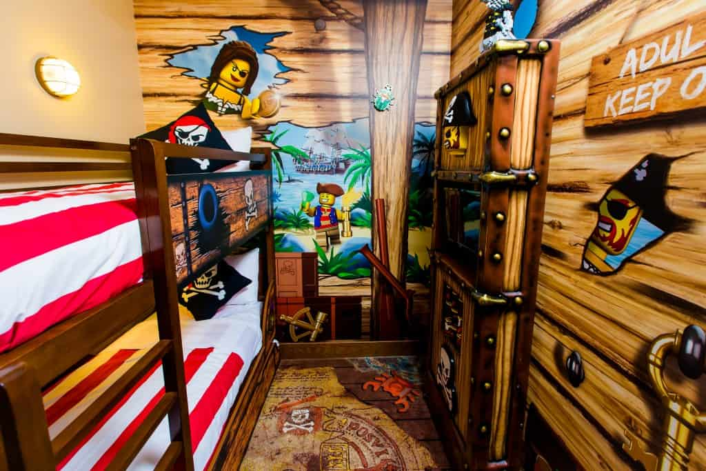 Legoland florida resort grand opening for Kids pirate room