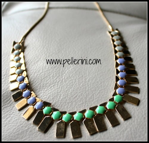 Stitch Fix Romolo Sheridan Enamel Circle Necklace