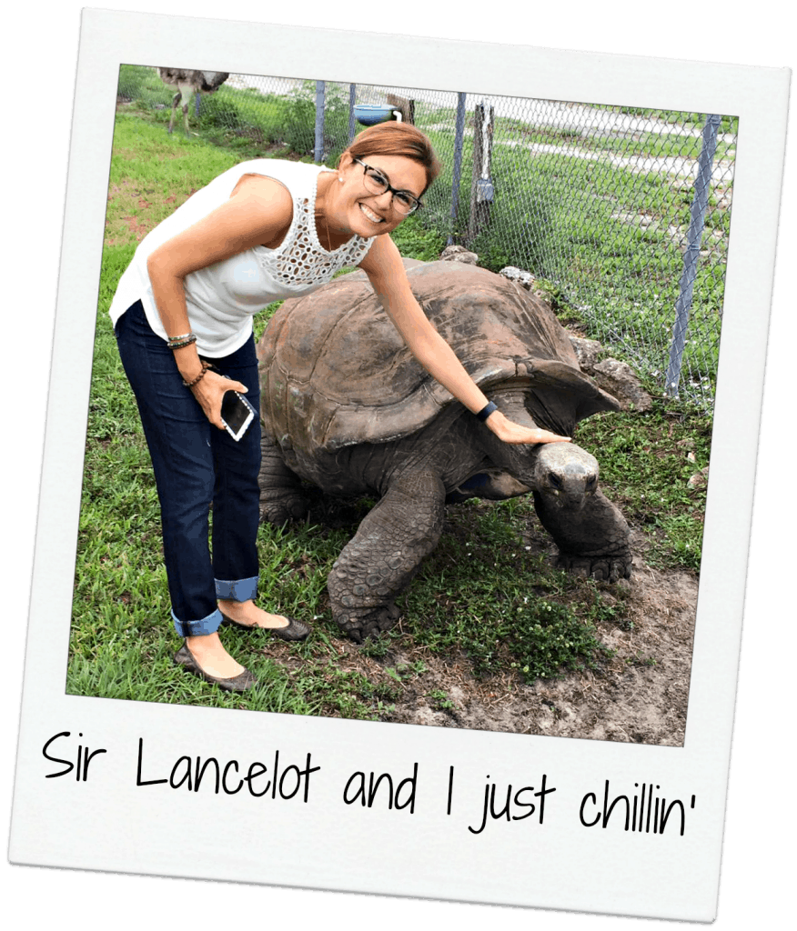 sir lancelot and I just chillin at Lion Country Safari