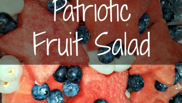 Patriotic Fruit Salad!