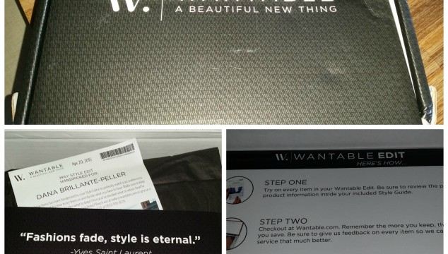 REVEAL & REVIEW: My First Wantable Style Box