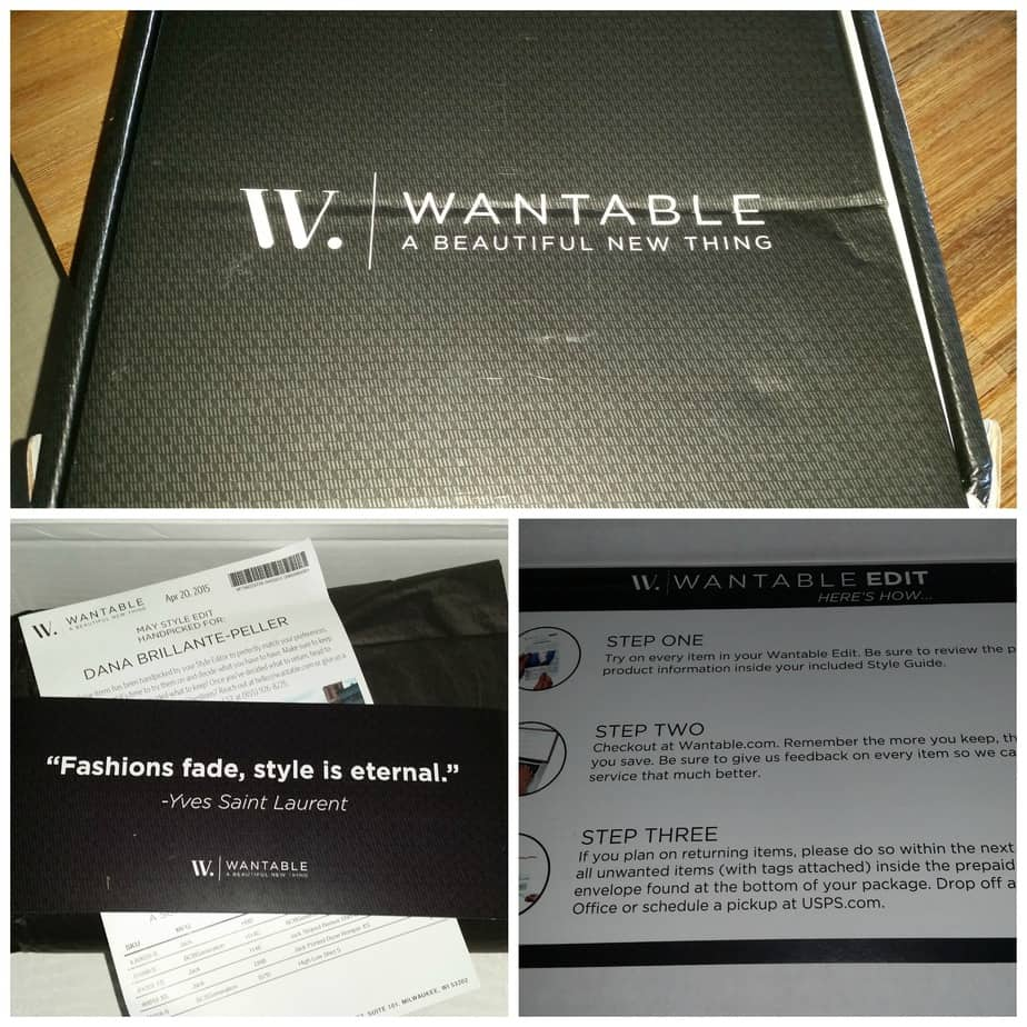 Wantable Collage