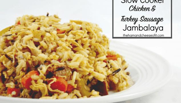 RECIPE: Slow Cooker Chicken & Turkey Sausage Jambalaya