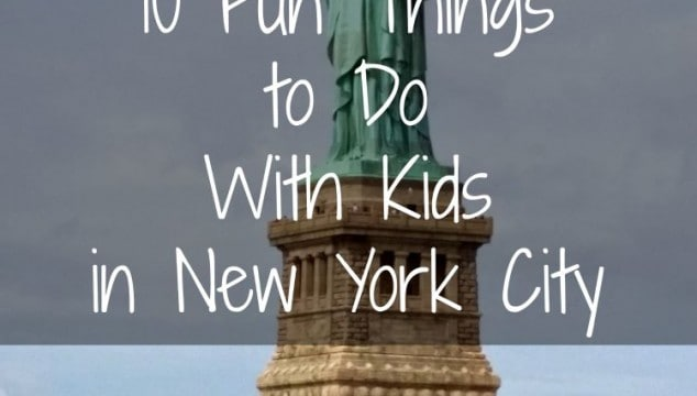 Travel Guide: 10 Fun Things to Do with Kids in New York City