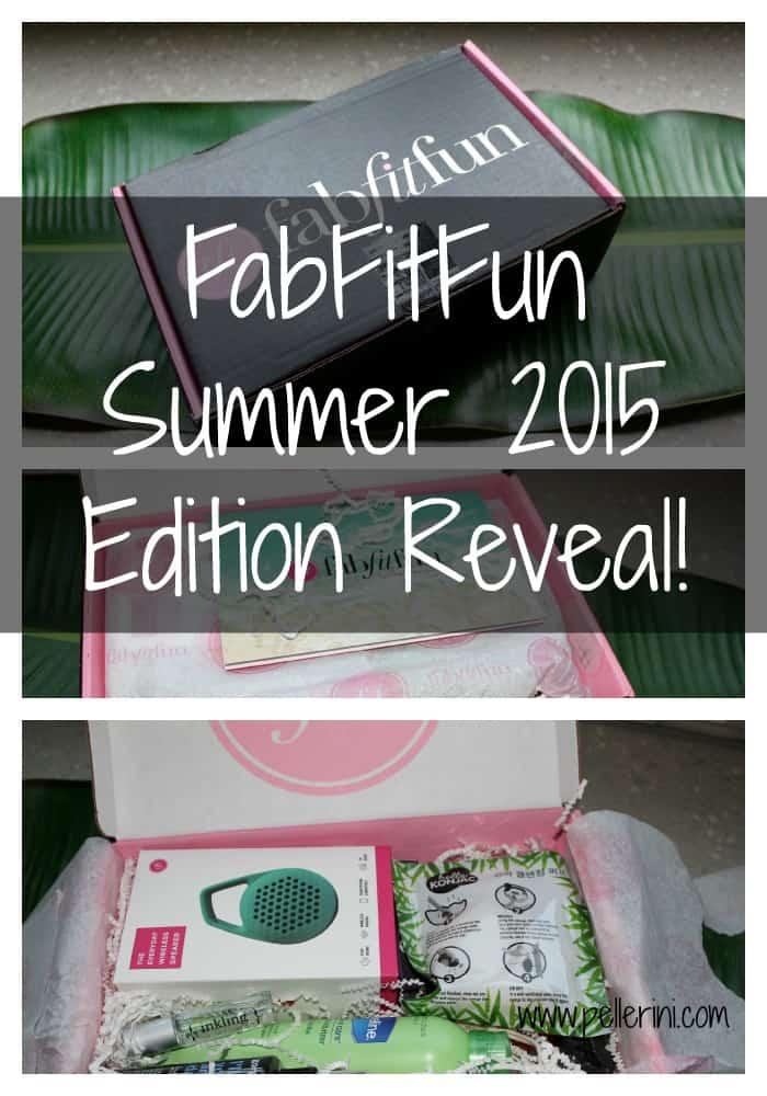 FabFitFun Summer 2015 Edition Reveal