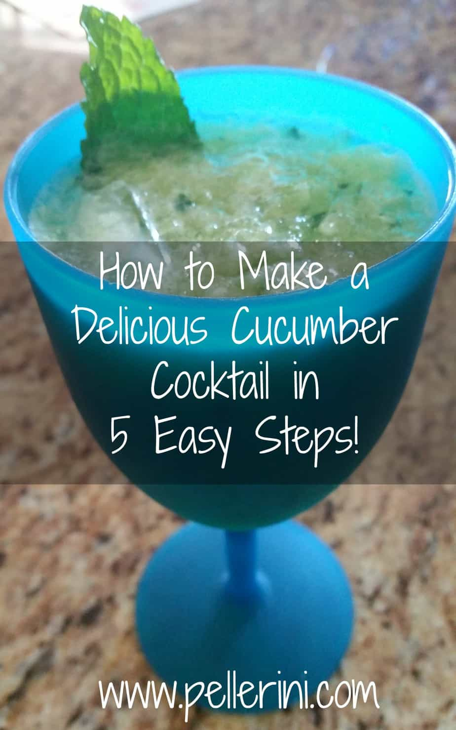 How to Make a Delicious Cucumber Cocktail in 5 Easy Steps