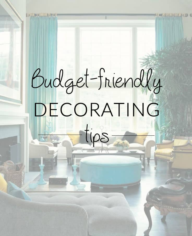 Decorating a Space on a Budget