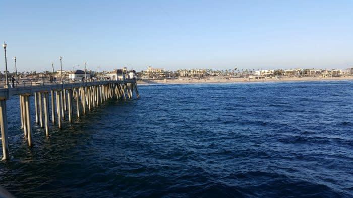 Kid friendly newport beach pellerini for Huntington beach pier fishing