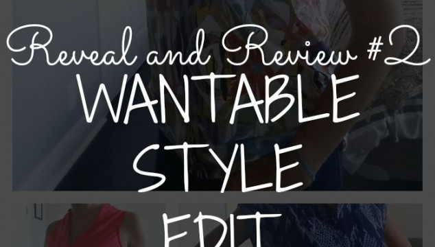 Wantable Edit Reveal and Review #2!