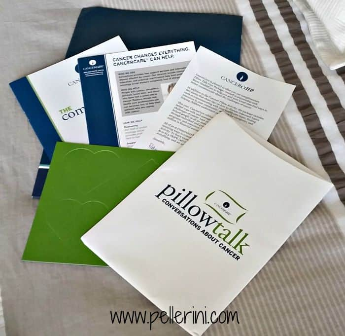 CancerCare Pillow Talk Package