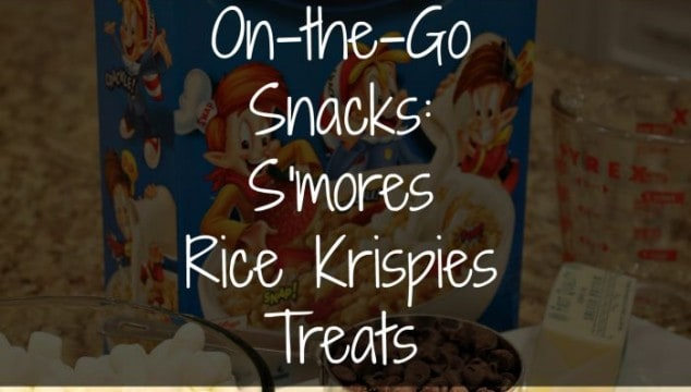 On-The-Go Snacks with Kellogg's Rice Krispies