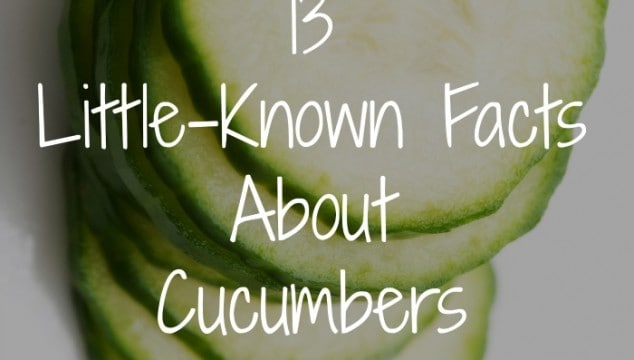 13 Little Known Facts About Cucumbers