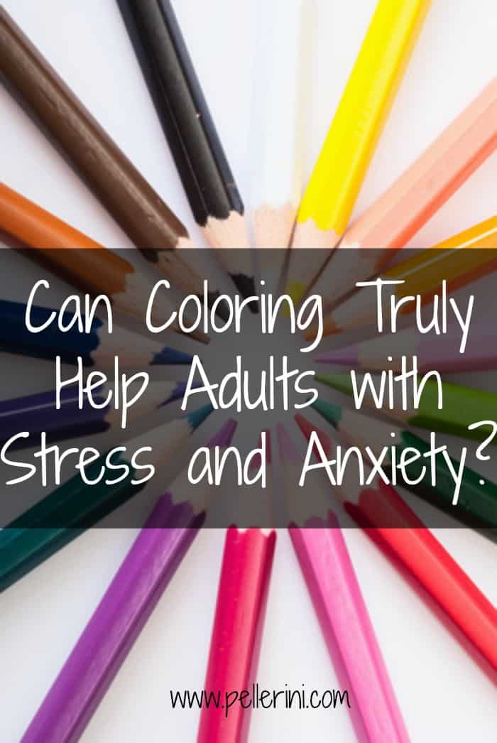 Can coloring truly help adults with stress and anxiety