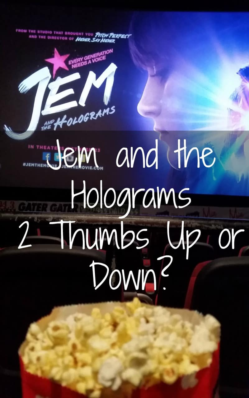 Jem and the Holograms Movie – 2 Thumbs Up or Down?