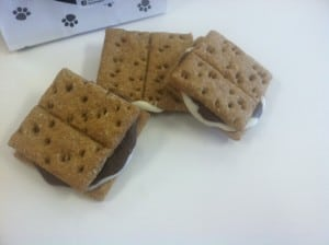 Woofables S'mores Dog Biscuits