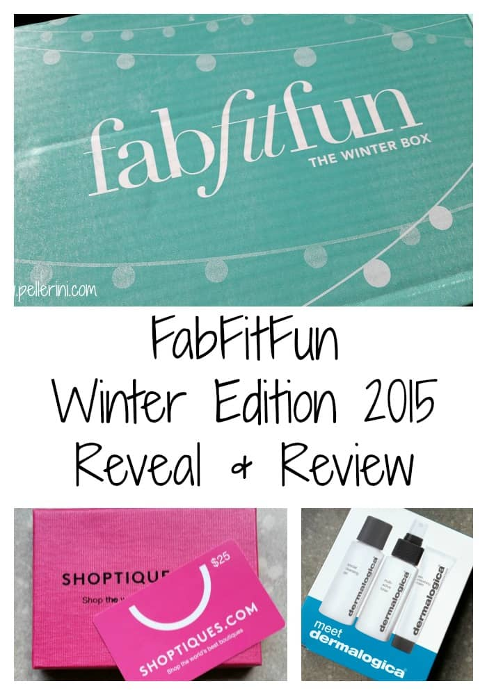 FabFitFun Winter Edition 2015 Reveal and Review