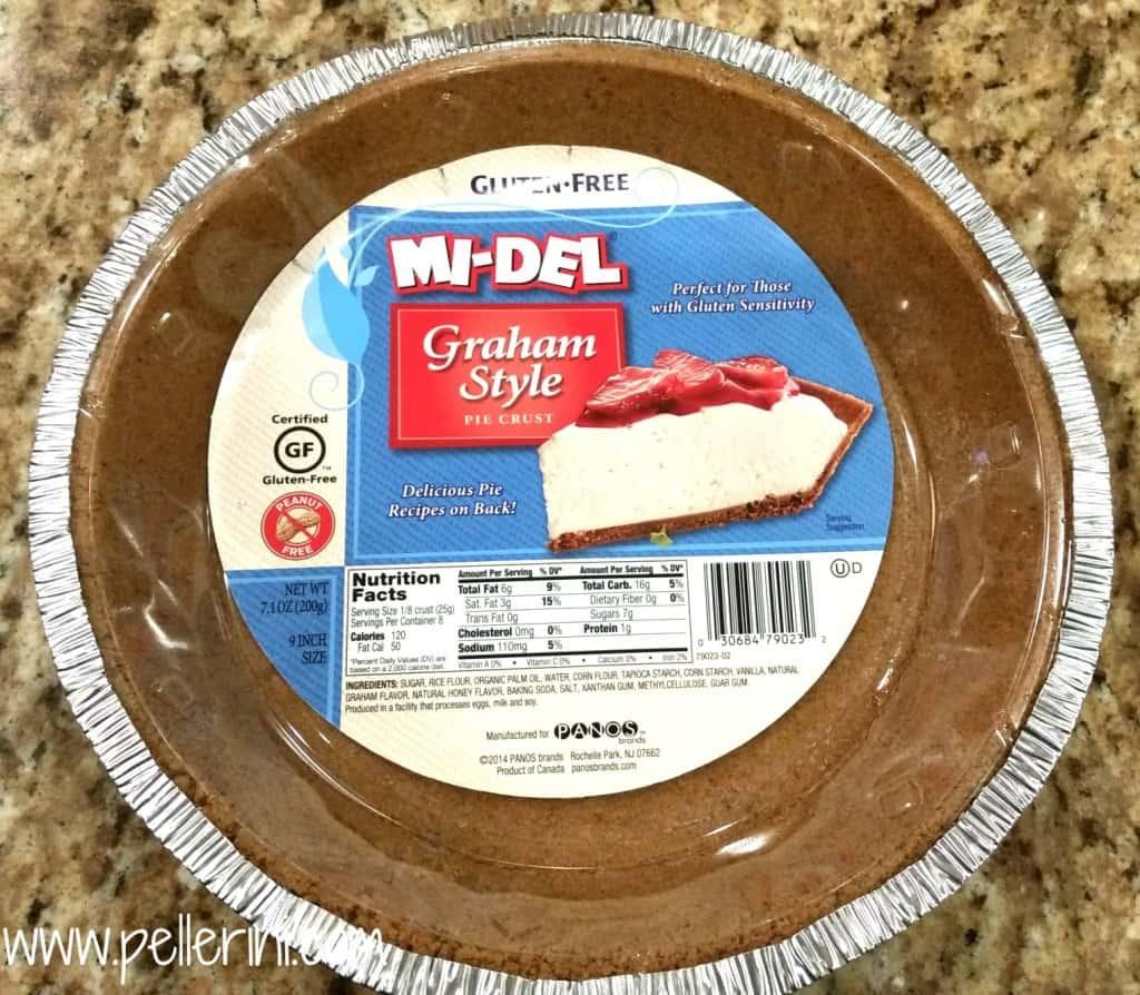 Gluten Free Pumpkin Cheesecake Pie Crust