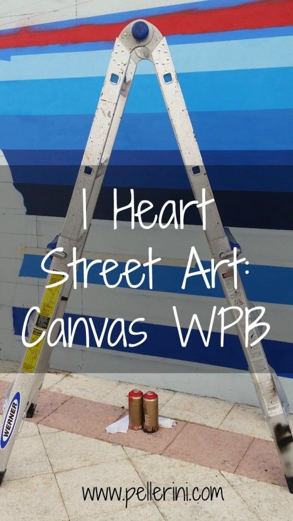 I Heart Street Art Canvas WPB