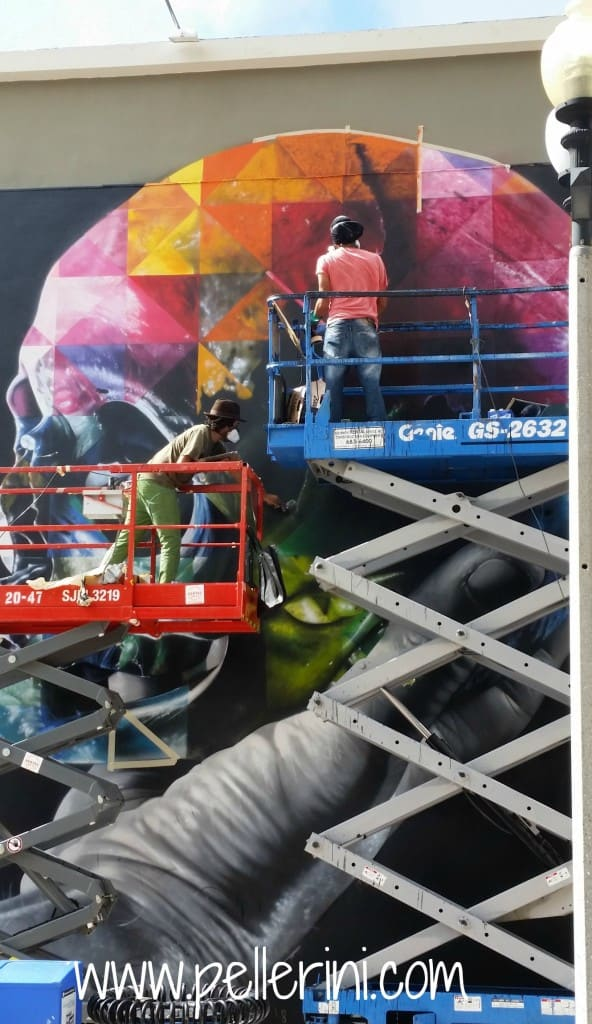 Kobra Street Art Hamlet In Progress