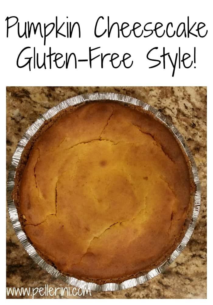 Pumpkin Cheesecake Gluten-Free Style