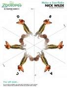 Zootopia Jack Wilde Snowflake