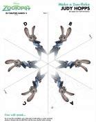 Zootopia Judy Hopps Snowflake