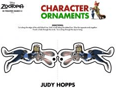 Zootopia Character Ornaments