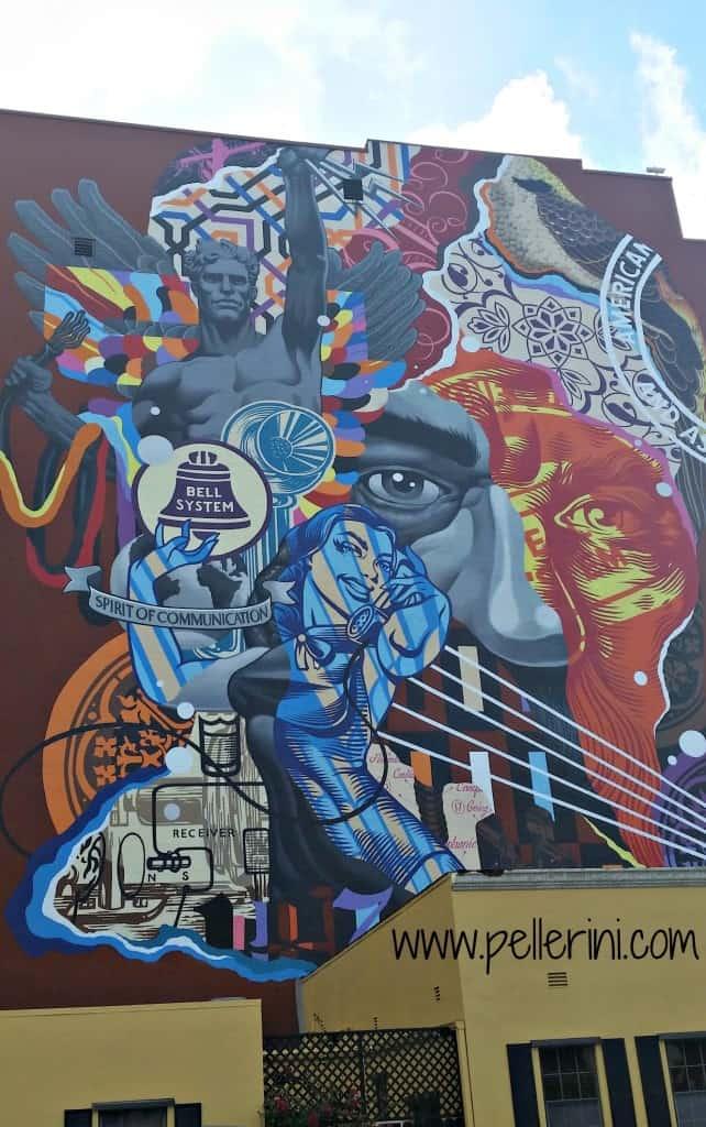 Tristan Eaton Alexander Graham Bell Street Art Canvas WPB
