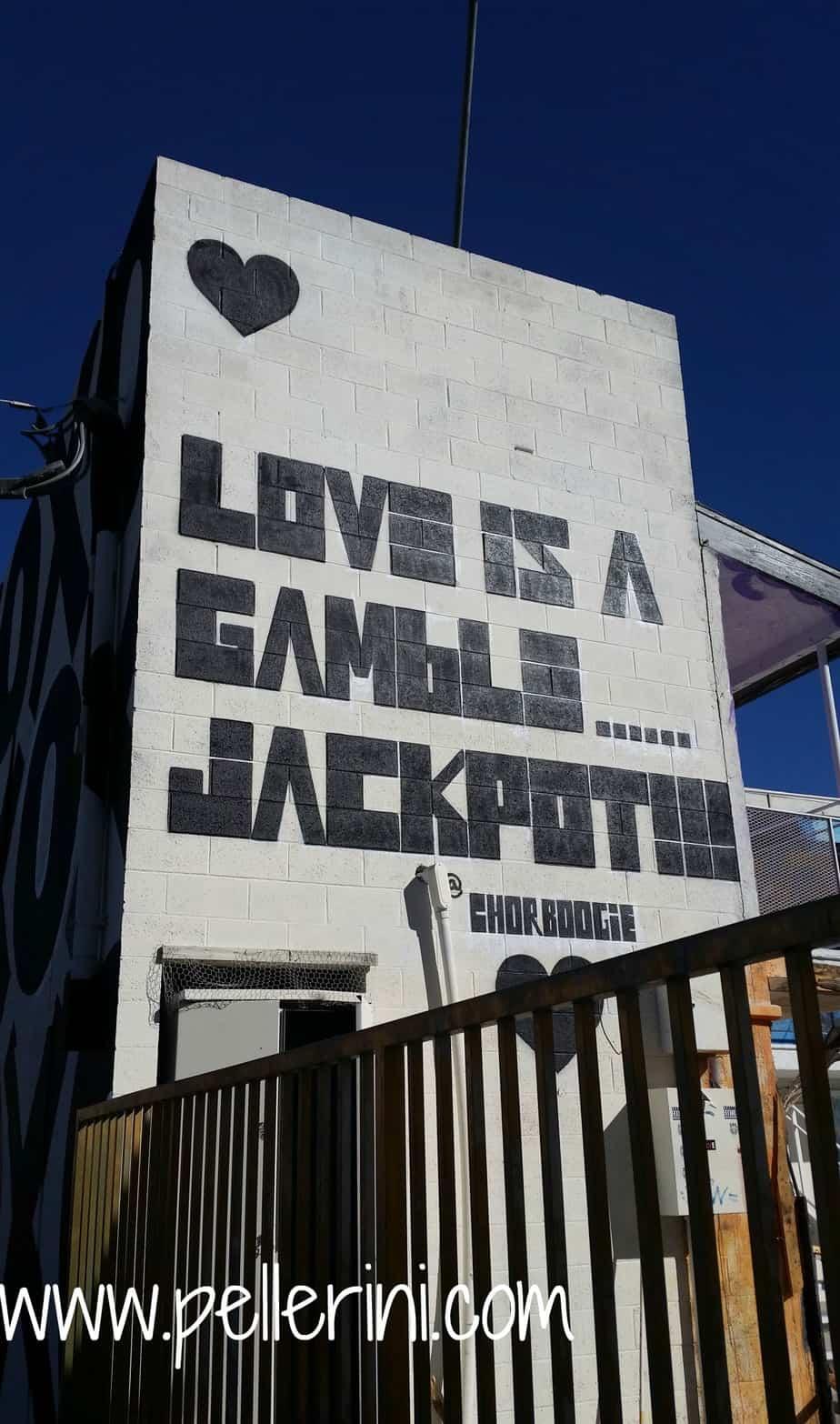 Chorboogie Street Art Downtown Las Vegas