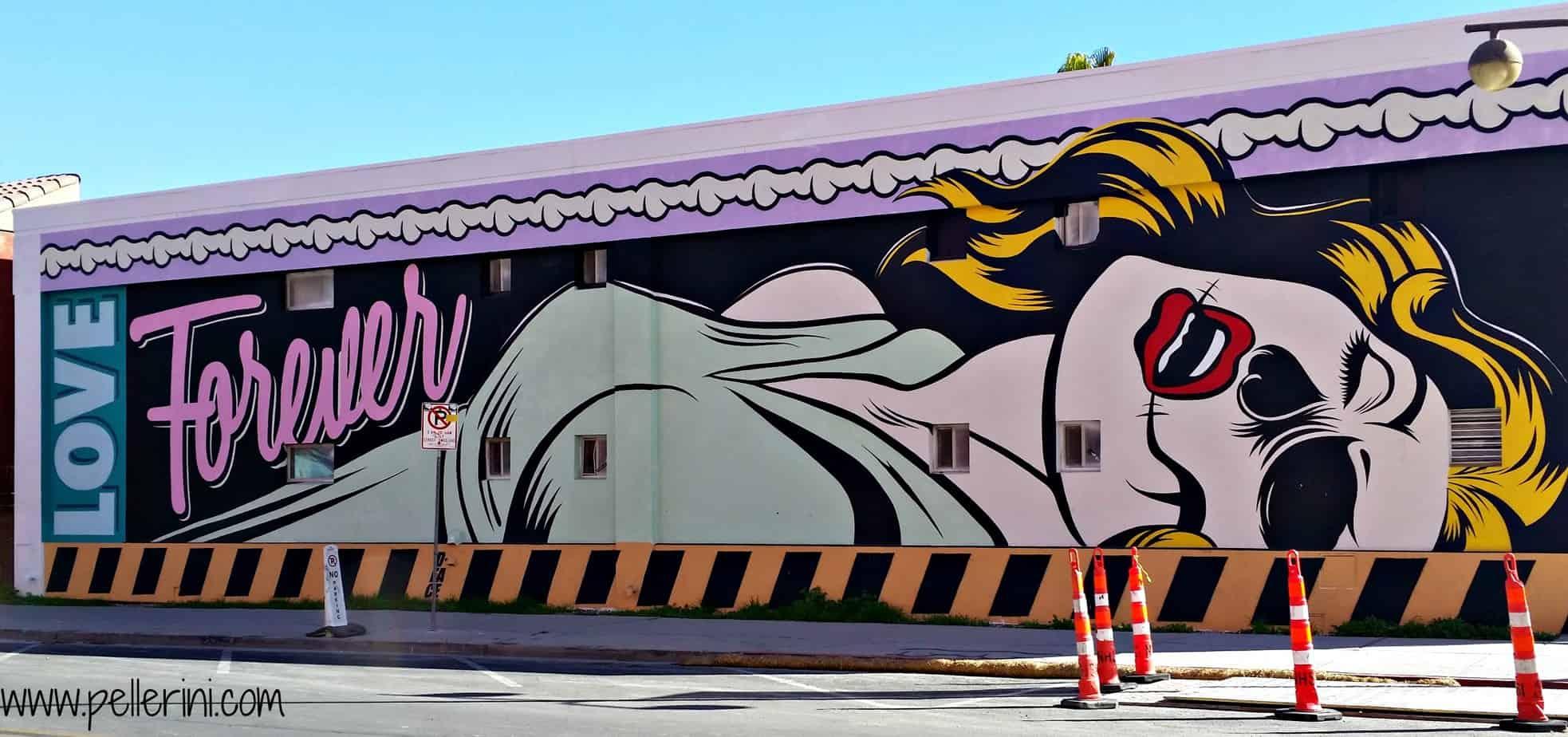 D Face Street Art Downtown Las Vegas