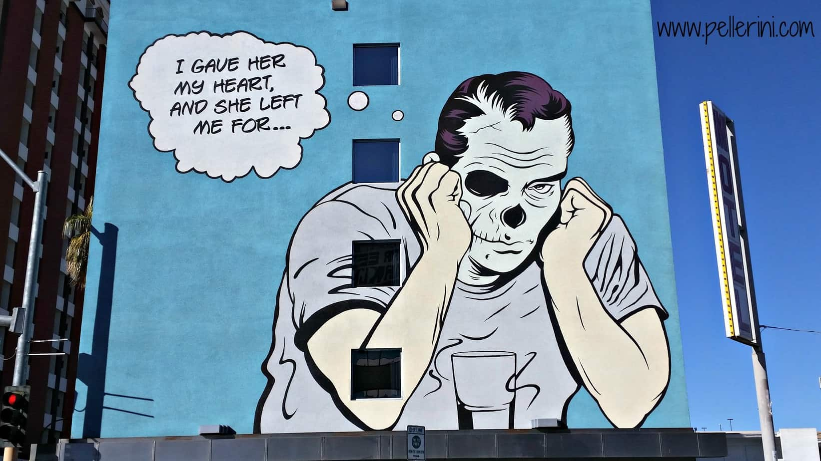 DFace Street Art Downtown Las Vegas