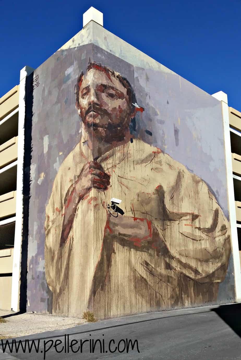 Massive Street Art Downtown Las Vegas