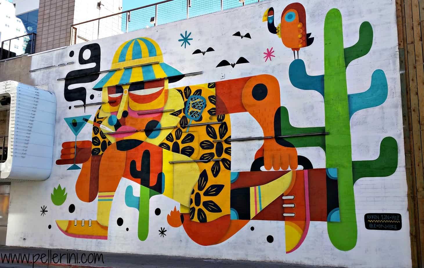what to do in Las Vegas Ruben Sanchez Street Art Downtown Las Vegas