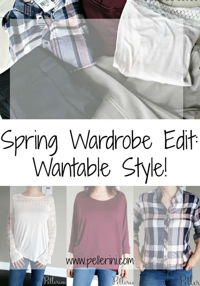 Spring Wardrobe Edit Wantable Style