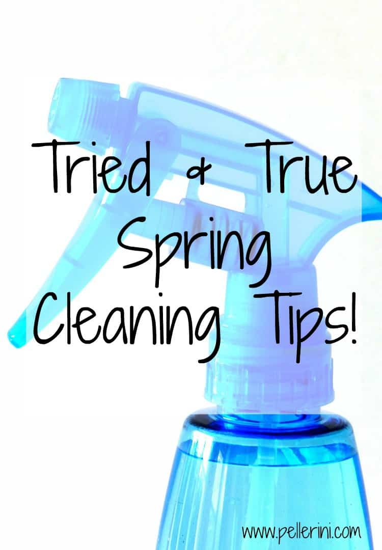 Tried and True Spring Cleaning Tips
