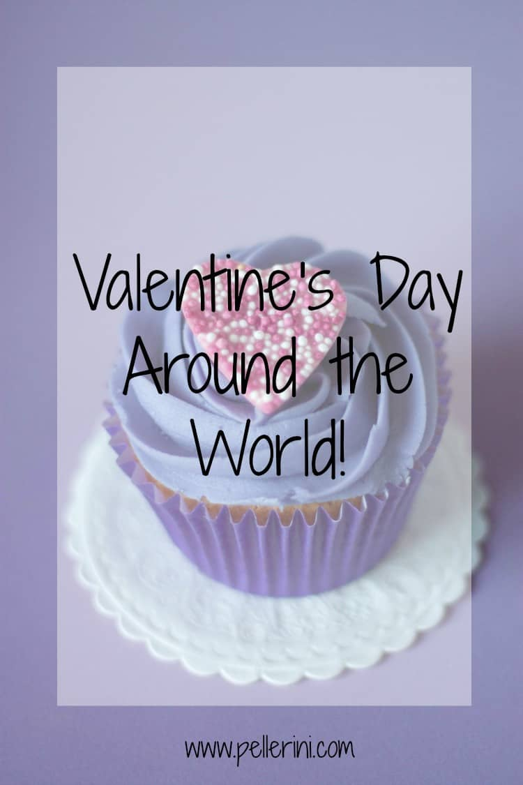 Valentine's Day Traditions Around the World Pin