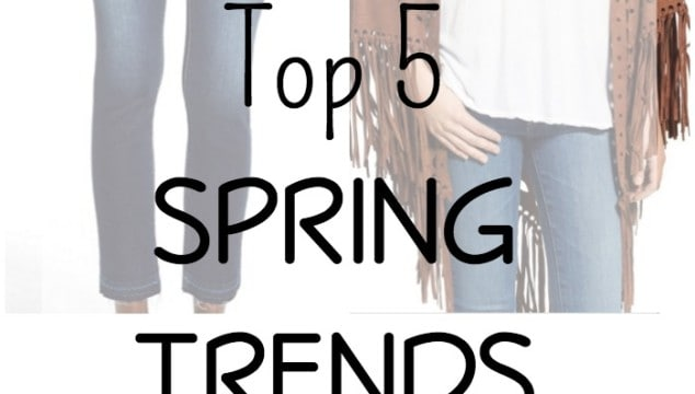 Top 5 Spring Fashion Trends