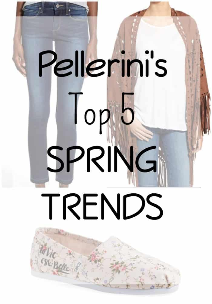Pellerini's Top 5 Spring Trends
