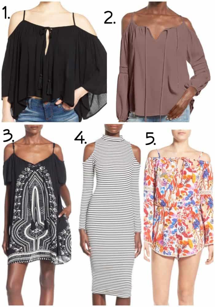 Spring Fashion Trends Cold Shoulder