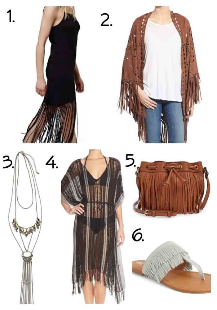 Spring Fashion Trends Fringe