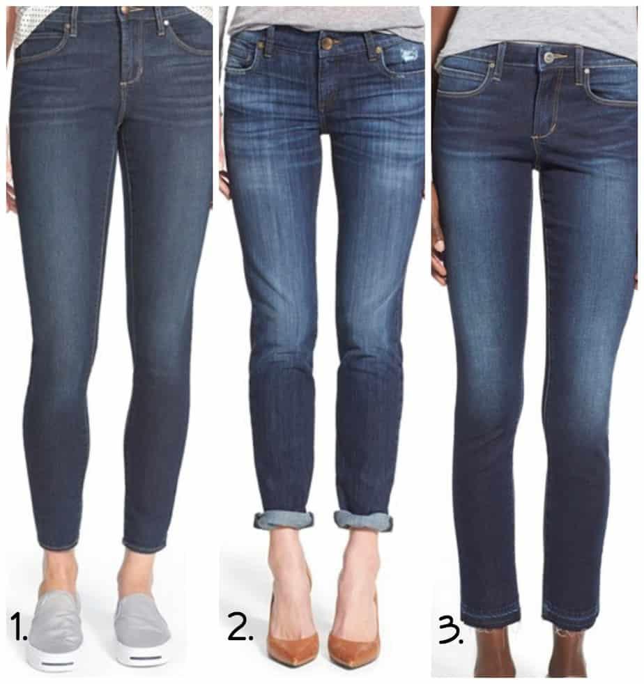Spring fashion trends denim skinny jeans