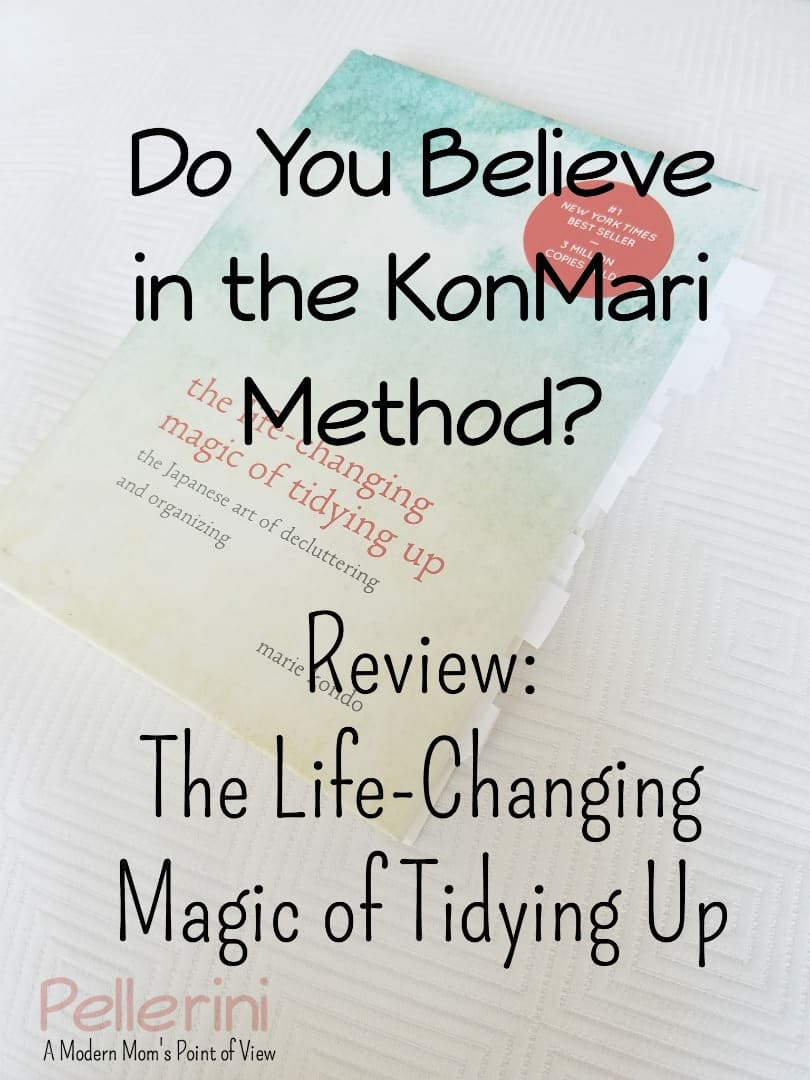 Do You Believe in the KonMari Method?  The Life-Changing Magic of Tidying Up