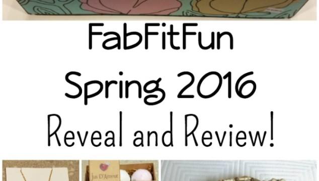 FabFitFun Spring 2016 Box Reveal & Review!