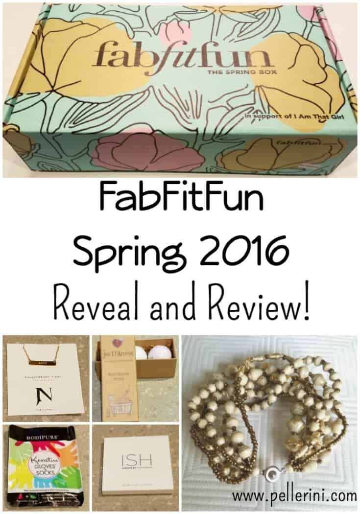 FabFitFun Spring 2016 Reveal and Review