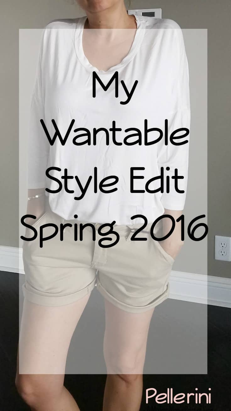 My Wantable Style Edit - Spring 2016
