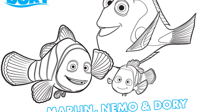 Finding Dory Fun For the Family – FREE Printables