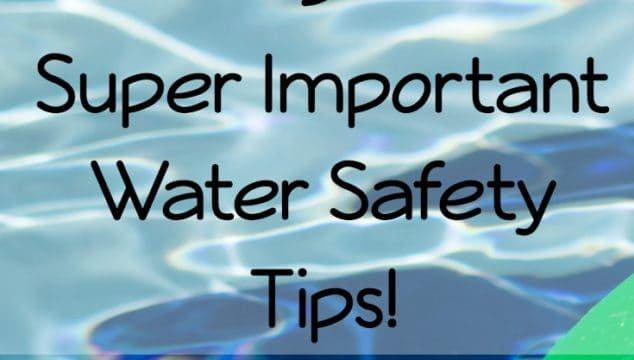 5 Important Water Safety Tips: National Water Safety Month